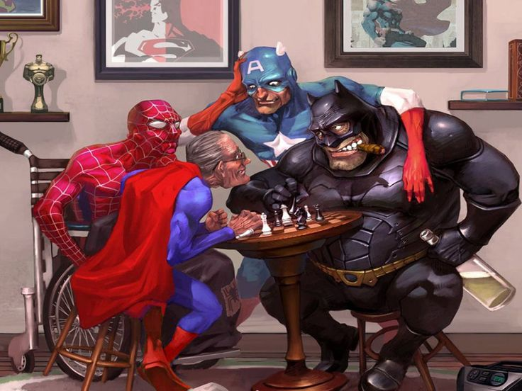 Superhero Retirement Home