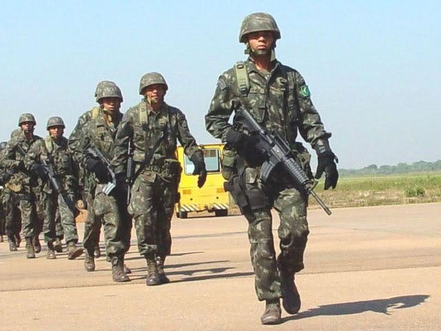 brazilian military | Brazilian Army uniforms
