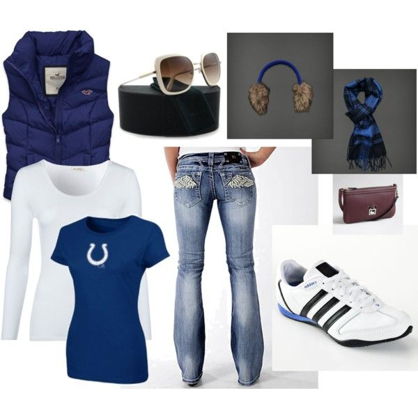 Colts Sunday- taking donations now to get this whole outfit