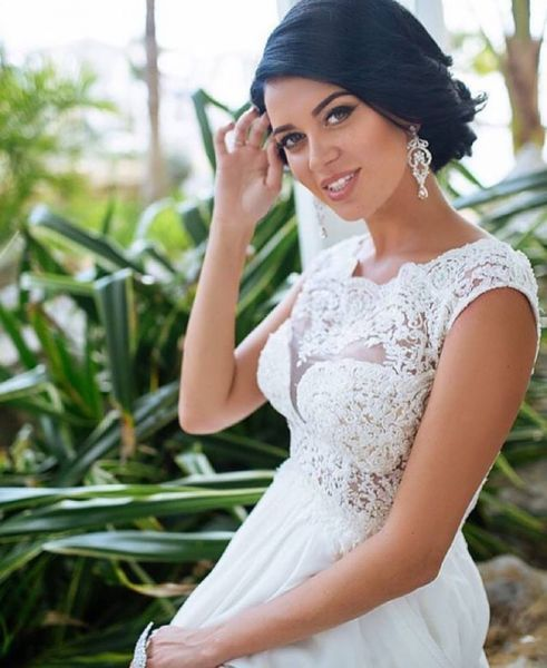 Vestidos de novia con encaje 2017