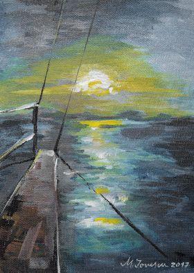 """Sailing Away"" (2) by Mihaela Ionescu"