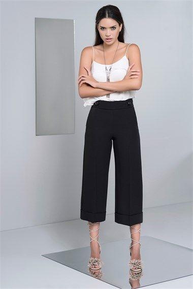 CULOTTE BOY PANTOLON Ürün Kodu : IRN1625891SIYAH Yaz sıcaklarına karşı sizi serinletecek pantolon modelleri ve renk seçenekleri için sayfamıza mutlaka uğrayın..