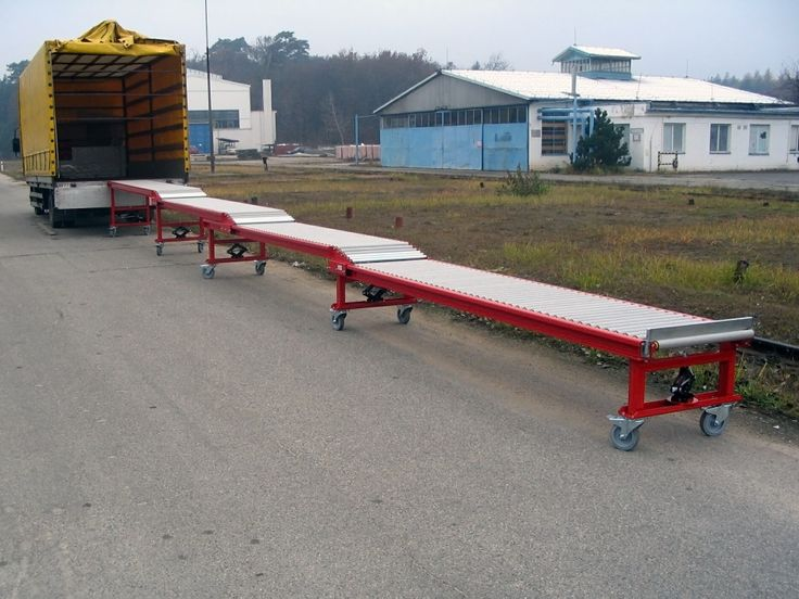 Gravity conveyor - unloading