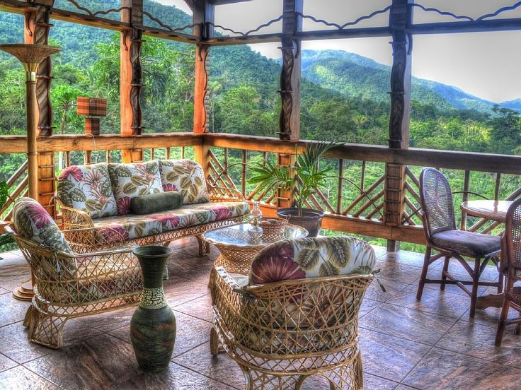 Now this is where we imagine having the perfect morning joe! #travel #belize