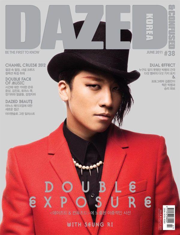 Big Bang's Seungri // Dazed & Confused Korea: