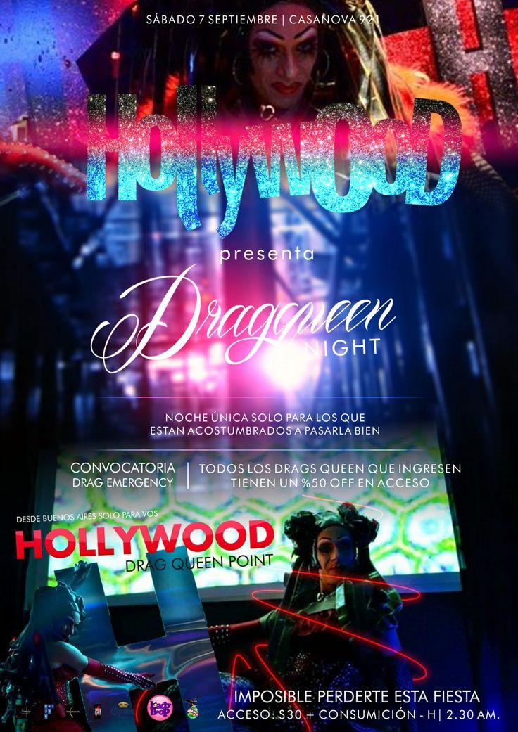 Gráficas para Hollywood Night.