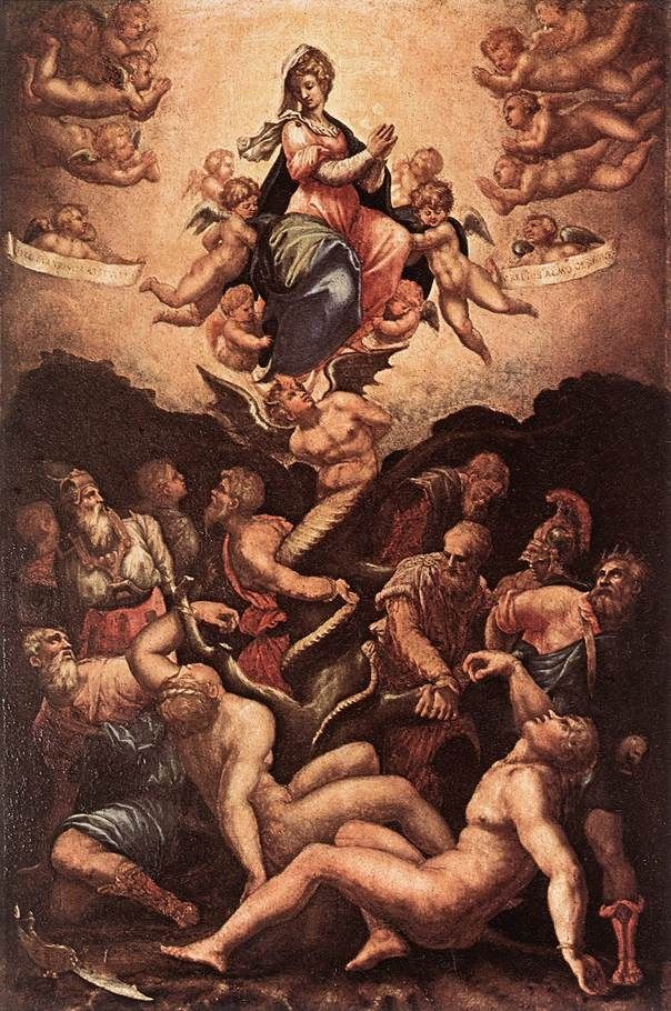 Vasari Allegory of the Immaculate Conception Life and Paintings of Giorgio Vasari (1511 – 1574)