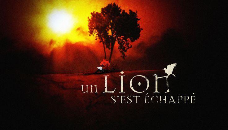 Un lion s'est échappé #3 (encre, acrylique et digital) ©Antoine Digout