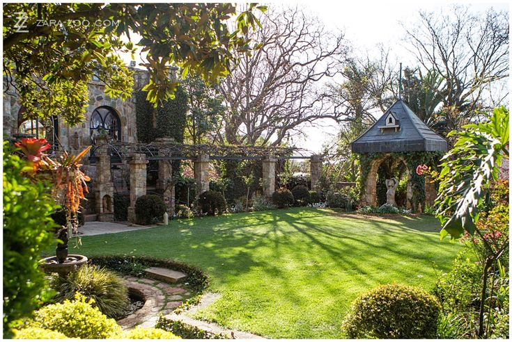 One of the well kept lawns at Shepstone Gardens in Johannesburg