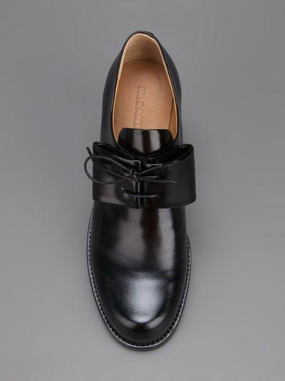 JIL SANDER - paneled derby shoe 8
