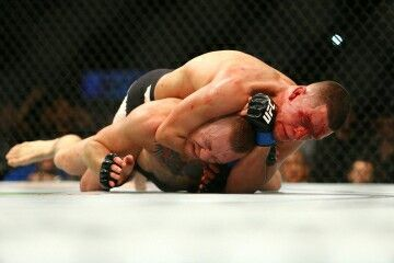 My boy Nate Diaz spoiled the party!  Humble pie anybody?