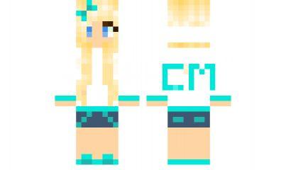 minecraft skin CowgirlMads skin