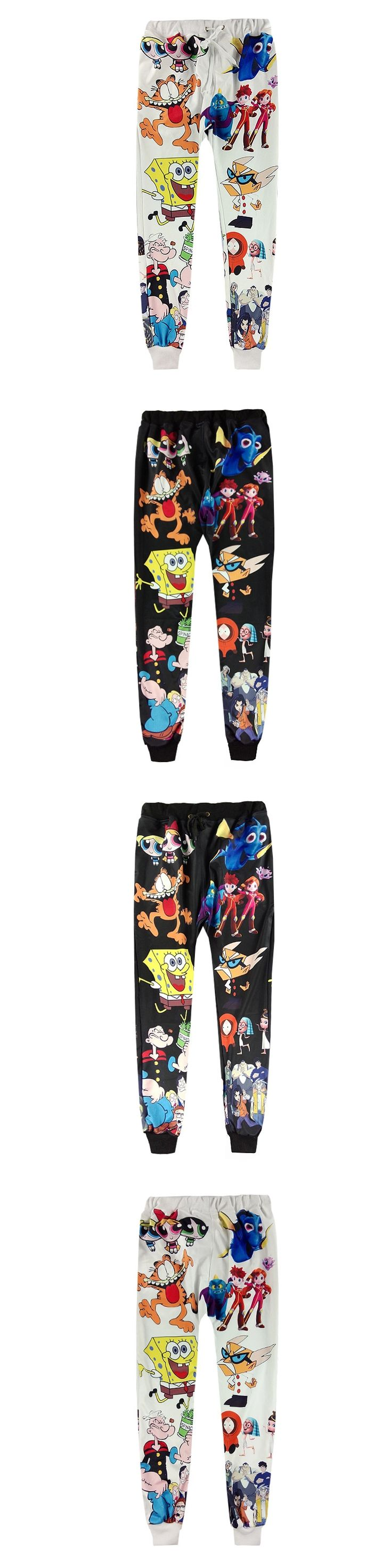 Fashion Funny Sweatpants 3D Print Emoji Face Coffee Cat Graphic Jogger Pants Men/Women Casual Harem Pants Comfortable Trousers