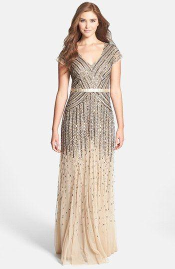 Art Deco gown