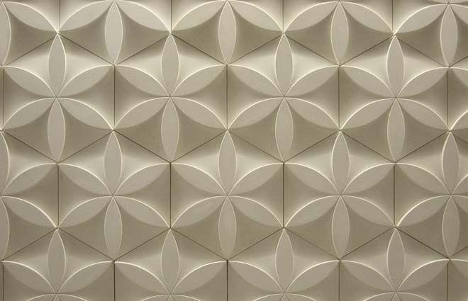 design revestimento de parede 3d