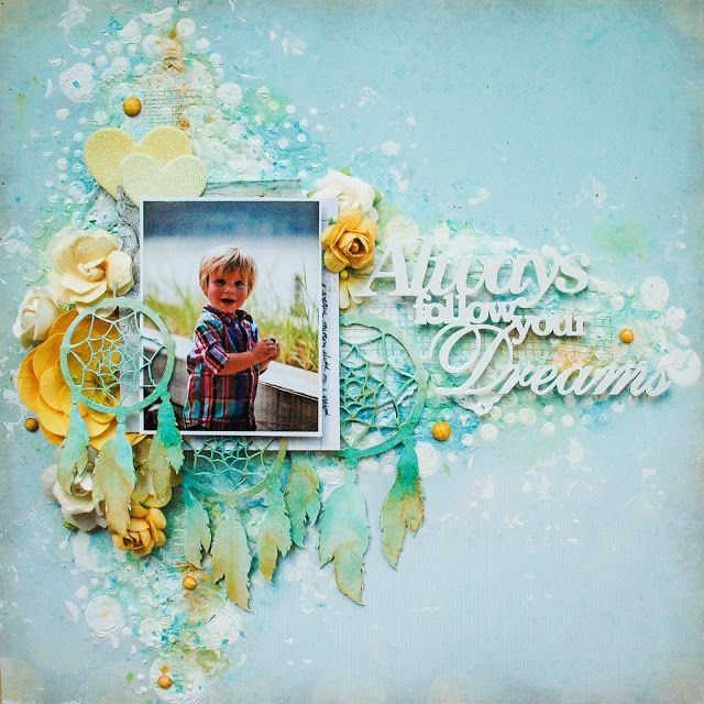 2Crafty- My Firsts Layouts by Catherine Giguère