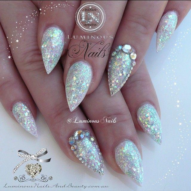 Luminous Nails & Beauty @luminousnails White Opal Effect...Instagram photo | Websta (Webstagram)