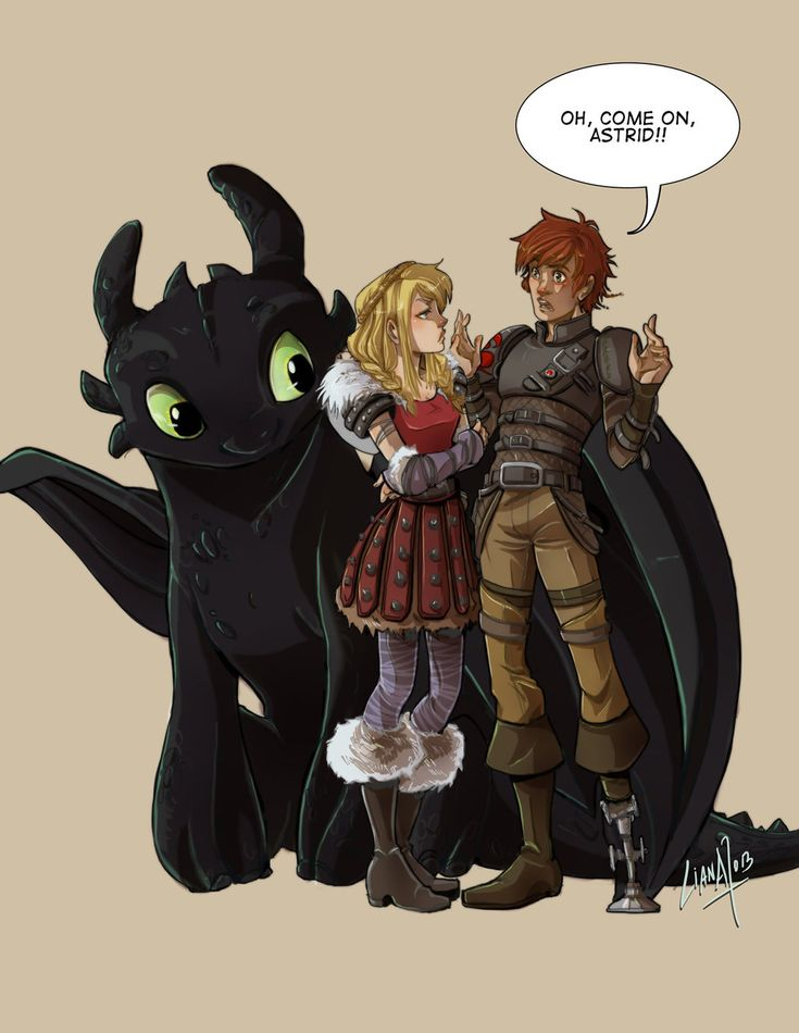 Hot Date Hiccup and Astrid by lightskin on DeviantArt How to