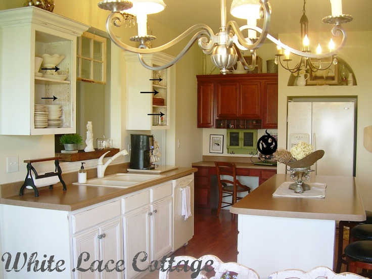 Entire Kitchen Painted With Annie Sloan Chalk Paint