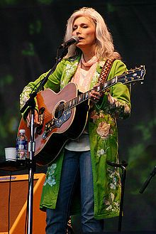 Emmylou Harris - more than just Bluegrass, one of the all time greats.