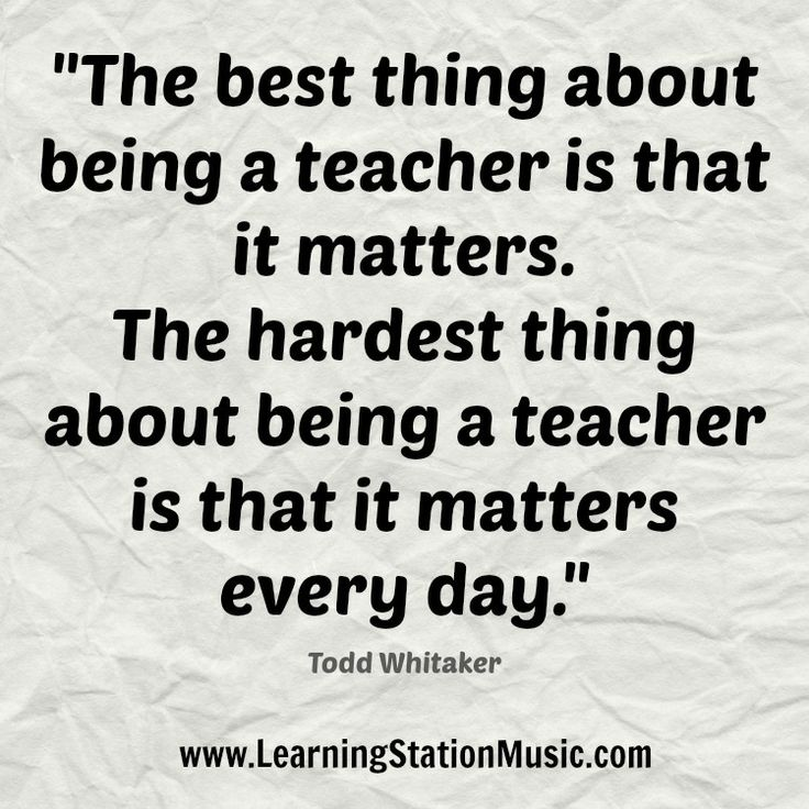 Why teaching was a wonderful profession