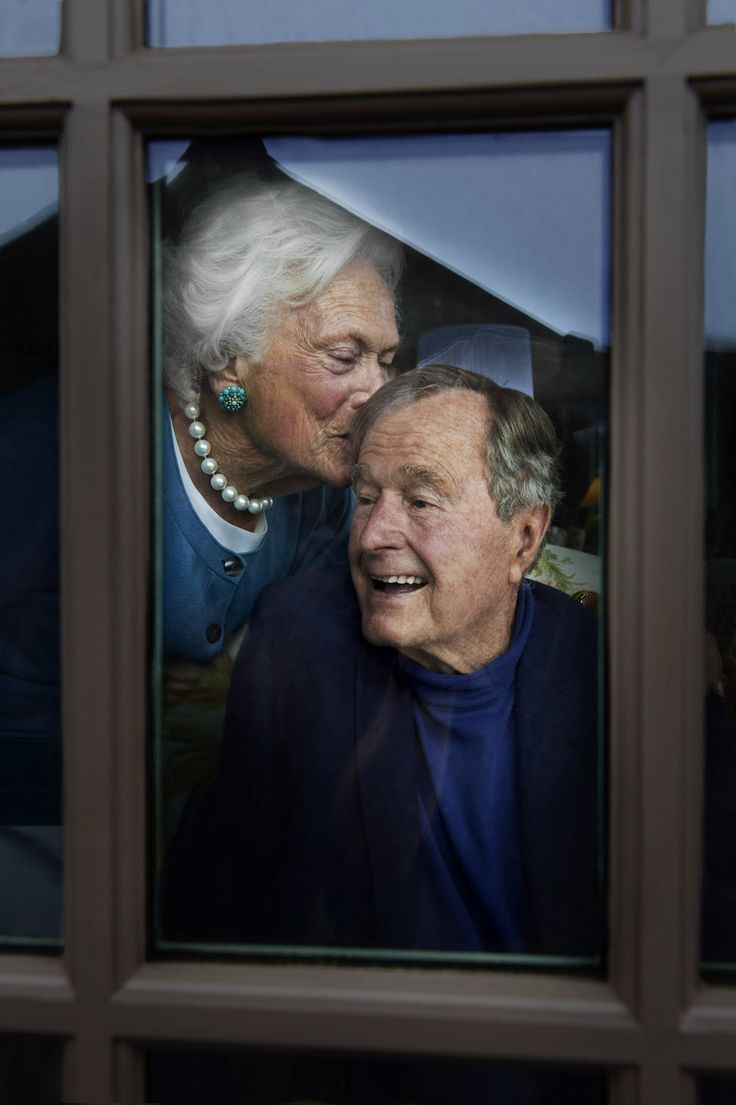 """ with something conceptual there happen to be real moments that are gifts...""  Doug Menuez photography - George and Barbara Bush...Doug Menuez on photographing former President George H.W. Bush and Barbara Bush for Parade magazine cover story"