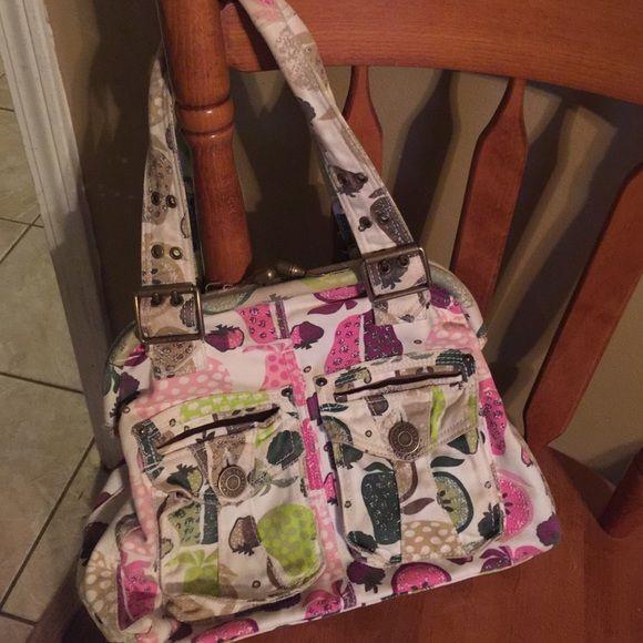 Gap purse with fruit on it. Very summery. Gap purse. GAP Bags