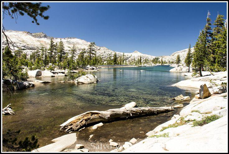 Hiking to Aloha Lake, Echo Lakes, Lake Tahoe Desolation Wilderness, Hiking, Lake Aloha, Landscape, Nevada