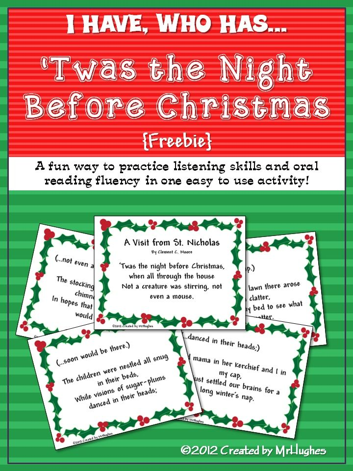 {FREEBIE}  I have used this activity for over 10 years in my classroom and my students have loved it every year. I am offering it as a free resource as my Holiday gift to you!