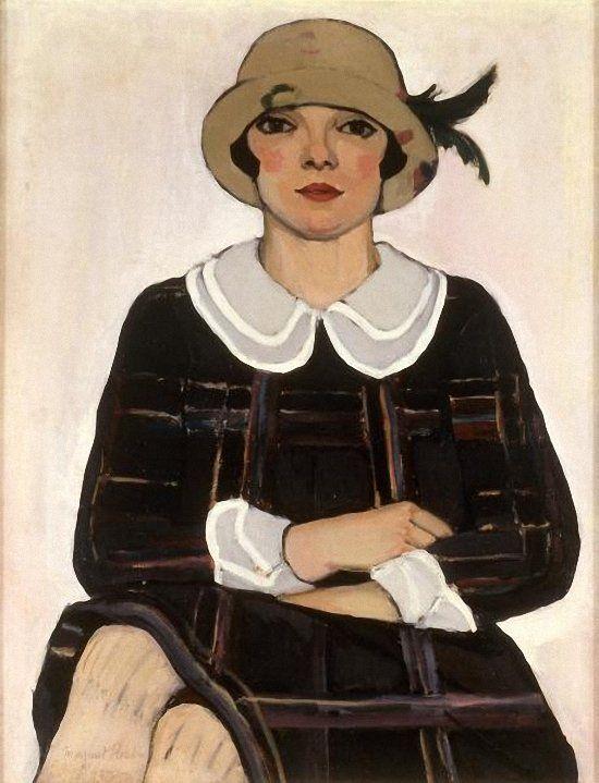 Margaret Preston (Australian artist, 1875 – 1963) Flapper