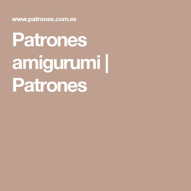 Patrones amigurumi | Patrones