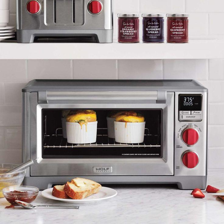 Countertop Pizza Oven Sur La Table : wolf gourmet countertop oven countertop oven countertops red pepper ...