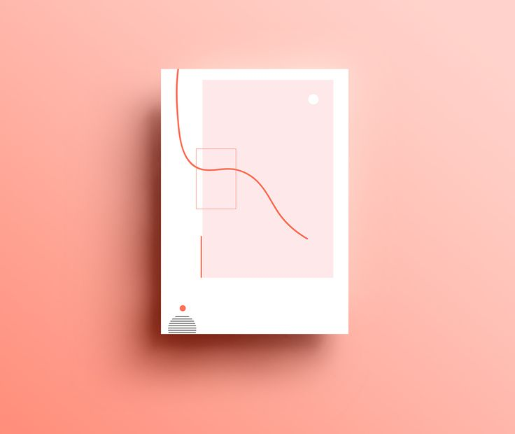 <p>A cool project by Italian graphic designer Isabella Conticello where she designed those very graphic geometric posters, one per day for 2 months. Be sure to check her Behance, she has a lot more&#8