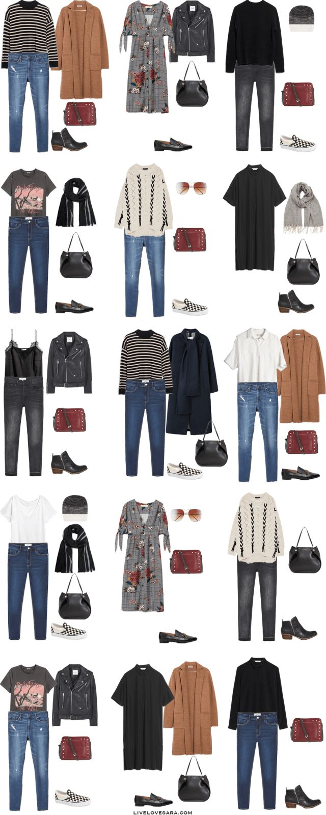 What to Pack for Edinburgh, Scotland Packing Light List Outfit Options 1-15