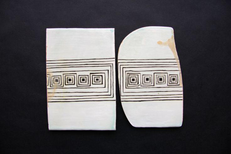 Керамические доски с орнаментом. 2015 Ceramic boards with ornaments. 2015 Tableros de cerámica con adornos. 2015