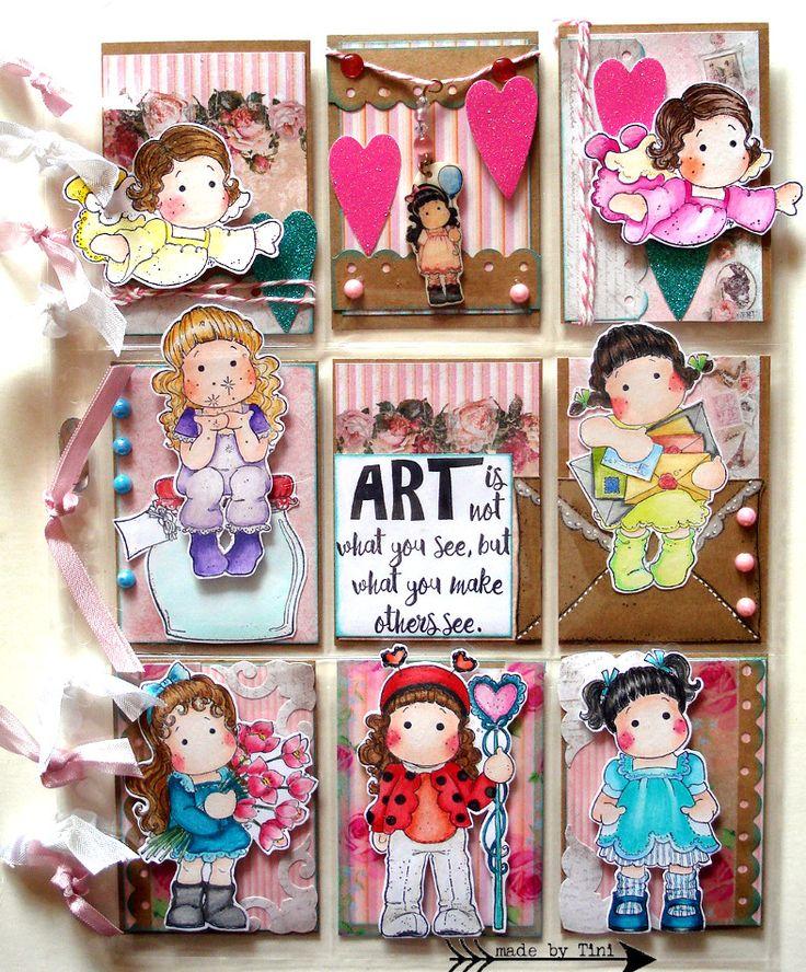 "My Pocket Letters ""Art Is Not...""  @ArtsbyTini"