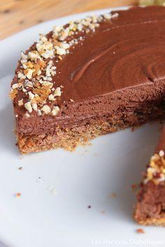 Entremets chocolat noisette { Noël }
