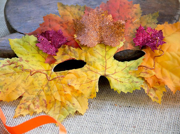 Make Your Own Fall Leaf Masks | Beautiful, Thanksgiving ...