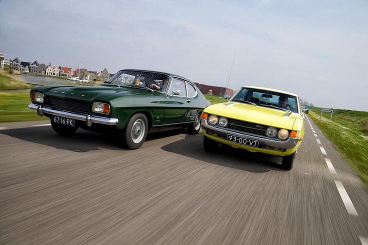 Classics - Ford Capri vs Toyota Celica