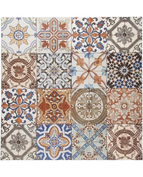 Vloertegel Meditera mix (25 / 20 x 20 cm) bestel je online bij Formido, de voordelige bouwmarkt €32,99