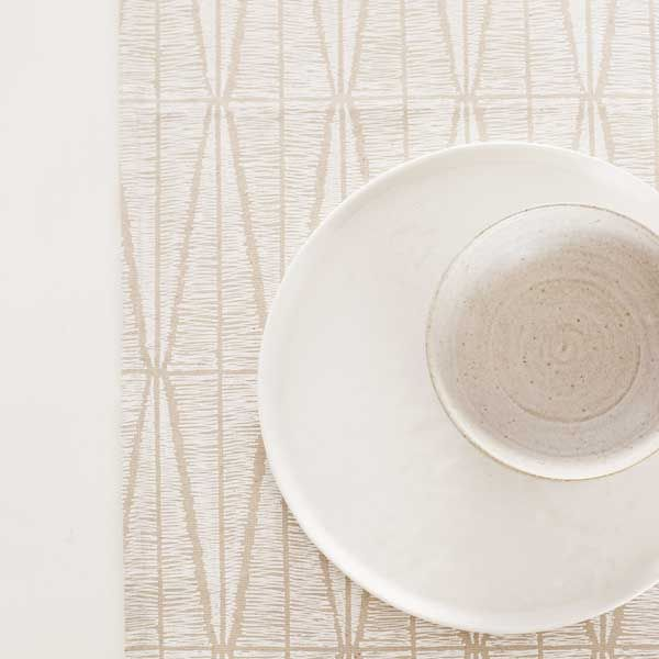 Sylvia | Table Runner | Ivory & Natural