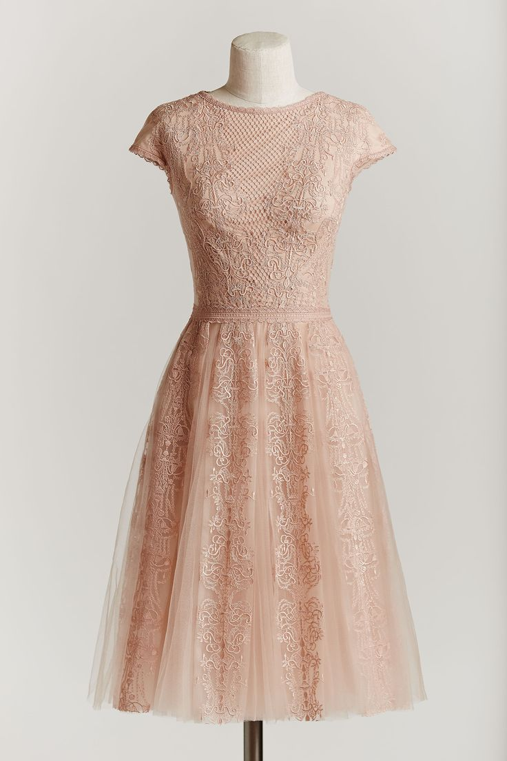 25 best rose gold wedding inspo images on pinterest for Antique rose wedding dress