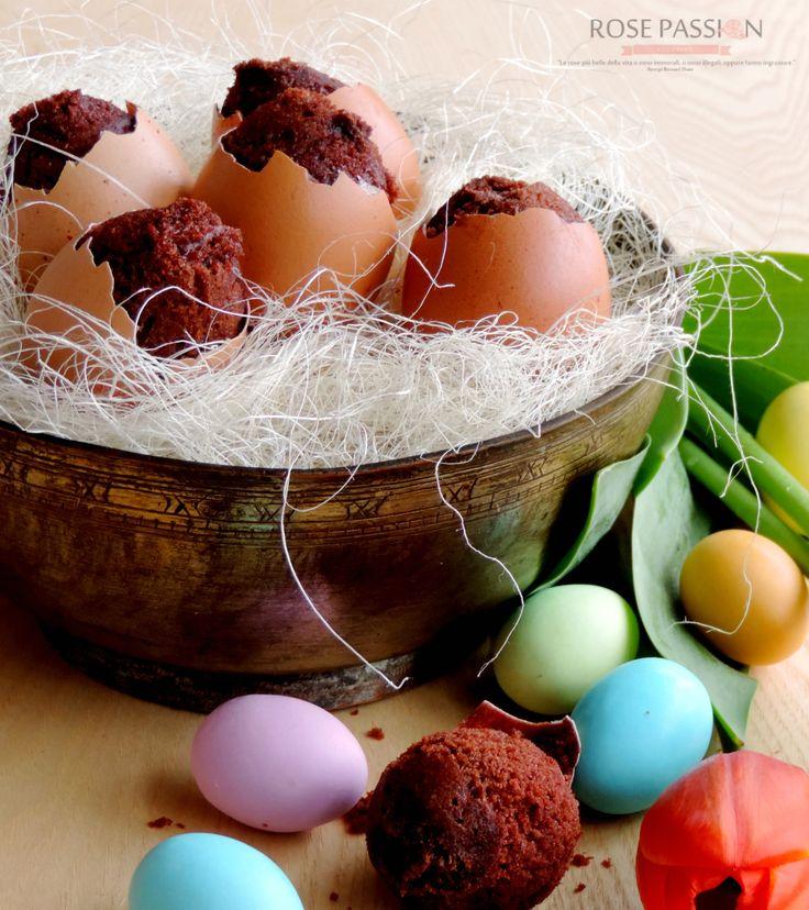 Uova con sorpresa di Muffin al cioccolato!