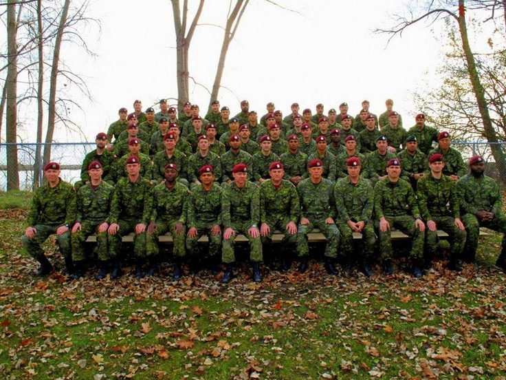 QOR Para Coy after Annual Airborne Refresher 2012