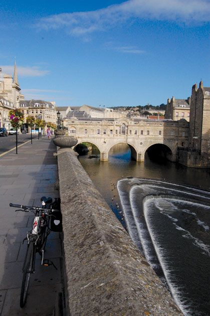 The beautiful city of Bath  England