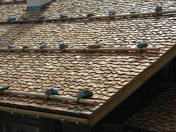Wood Roofing Shingle