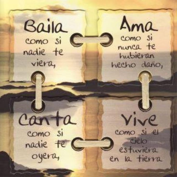 Motivacion ...: But, As You, Life, Cita, Lives, Phrases, Baila, Spanish Quotes, Photo