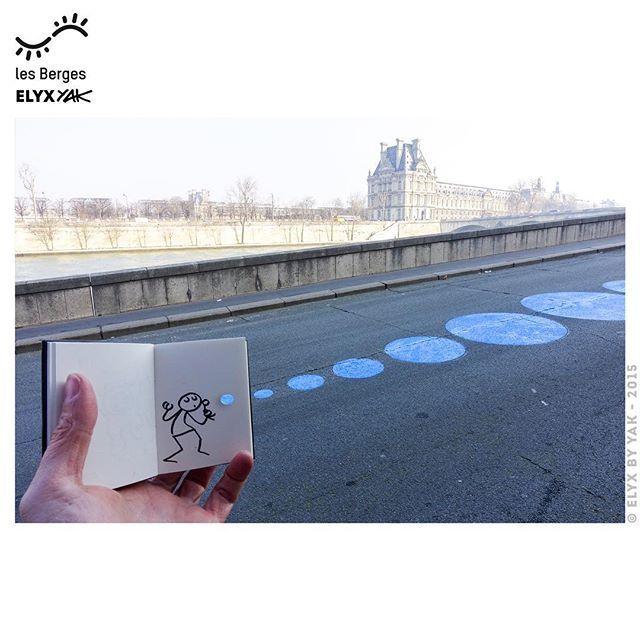 Les Berges de Seine en 2015 #Bonjour