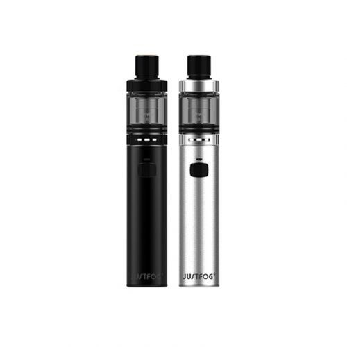 Justfog FOG1 Starter Kit-A practical starter kit features voltage and constant output 1500mAh battery. This is the design of the synonym for security, because it provides childproof opening system, top filling, replaceable 2.0ml liquid tank tube as well as battery level indicator.