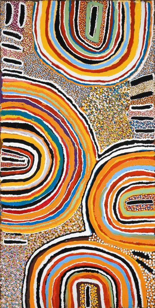 Susie Bootja Bootja Napaltjarri ~ Kaningarra, near the Canning Stock Route, 2000